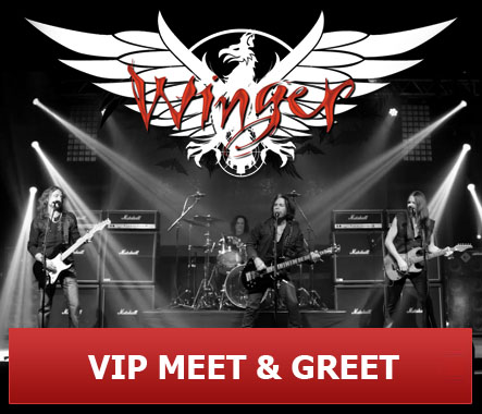 Winger VIP Meet & Greet, Backstage Experience